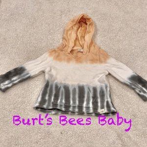 Burt's Bees Baby tyedye hoodie 6-9M EUC